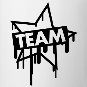 team_graffiti_star T-Shirts - Mug