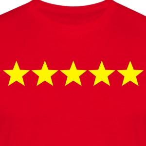5 Sterne  / 5 Stars Tabliers - T-shirt Homme