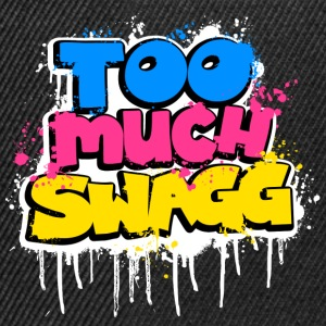 TOO MUCH SWAGG graffiti T-Shirts - Snapback Cap