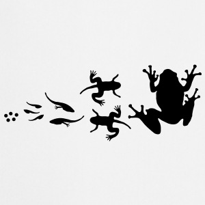 frog_evolution Borse - Keukenschort
