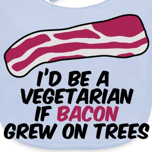 Bacon on Trees Tee shirts Enfants - Bavoir bio Bébé