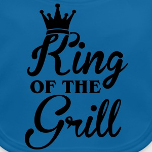 King of the Grill T-shirts - Baby økologisk hagesmæk
