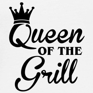 Queen of the Grill Flaschen & Tassen - T-shirt Premium Homme