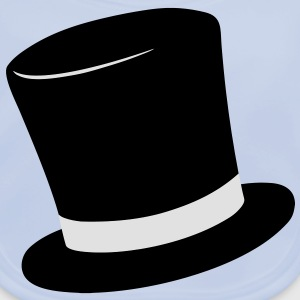 Top Hat Barn-T-shirts - Ekologisk babyhaklapp
