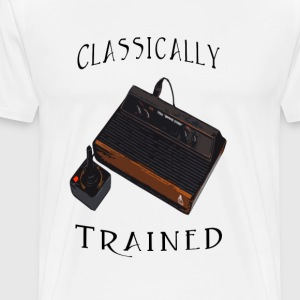 Classically Trained Gamer - Men's Premium T-Shirt