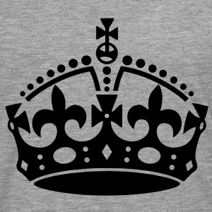 Keep Calm Crown Hoodies & Sweatshirts - Men's Premium Longsleeve Shirt