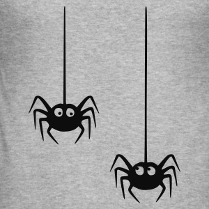Blended grey spider Jumpers - Men's Slim Fit T-Shirt