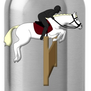 show jumping horse Kids' Shirts - Water Bottle