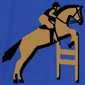 show jumping horse T-Shirts - Women's Tank Top by Bella