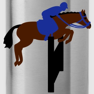 show jumping horse Bags  - Water Bottle
