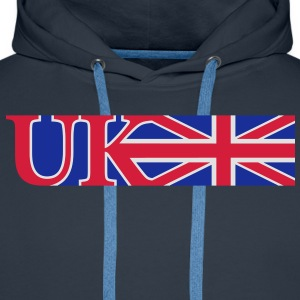 uk_union_jack_3c T-Shirts - Men's Premium Hoodie
