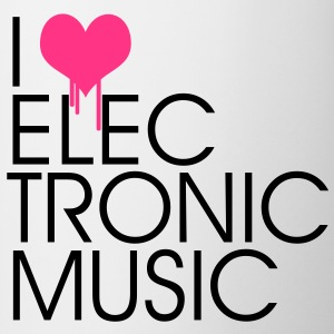 I Love Electronic Music T-Shirts - Tasse