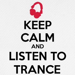Keep Calm And Listen To Trance T-skjorter - Baseballcap
