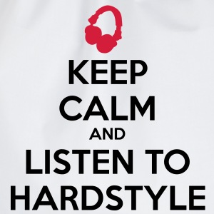 Keep Calm And Listen To Hardstyle T-shirts - Gymtas
