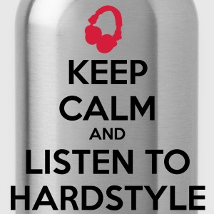 Keep Calm And Listen To Hardstyle Sudadera - Cantimplora
