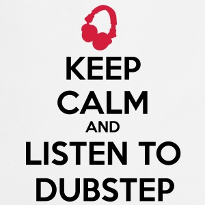 Keep Calm And Listen To Dubstep Barntröjor - Förkläde