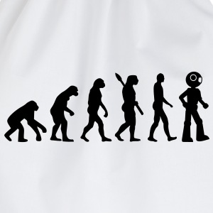 Evolution Roboter T-Shirts - Turnbeutel