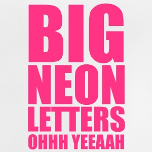 Big Neon Letters Kinder sweaters - Baby T-shirt