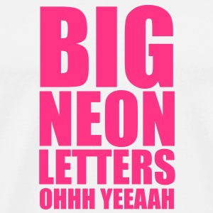 Big Neon Letters Sweats Enfants - T-shirt Premium Homme