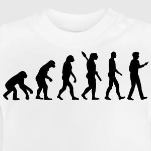 Evolution Handy Smartphone Kinder T-Shirts - Baby T-Shirt