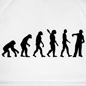 Evolution Rapper Buttons / Anstecker - Baseballkappe