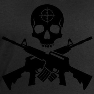Skull M16 T-Shirts - Men's Sweatshirt by Stanley & Stella