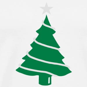 Christmas fir tree - V2 Hoodies & Sweatshirts - Men's Premium T-Shirt