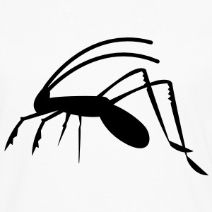 grasshopper weta cricket insect antennae creepy!  Aprons - Men's Premium Longsleeve Shirt