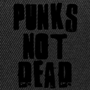 Punks Not Dead Tee shirts Enfants - Casquette snapback