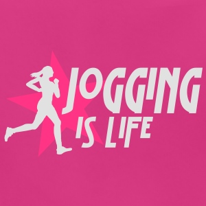 jogging is life female with star i 2c Vesker - Baby biosmekke