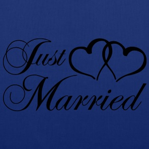 just_married_coeur Tabliers - Tote Bag