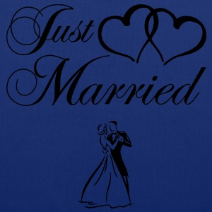 just_married_couple Tabliers - Tote Bag