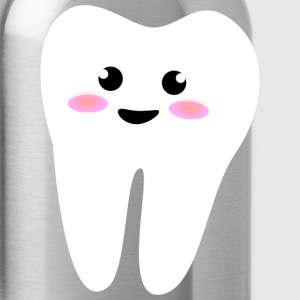 happy tooth T-Shirts - Water Bottle