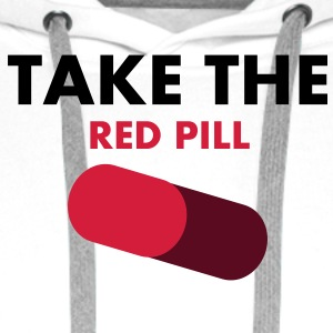 take_the_red_pill T-Shirts - Männer Premium Hoodie