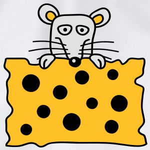 mouse_and_cheese T-shirts - Gymnastikpåse