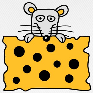 mouse_and_cheese T-shirts - Basebollkeps