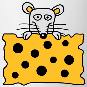 mouse_and_cheese Camisetas - Taza