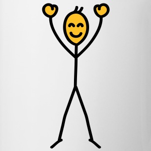 happy_stick_figure T-shirts - Mok