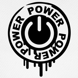 power_stamp T-shirt - Cappello con visiera