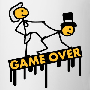bachelor_party_game_over T-skjorter - Kopp