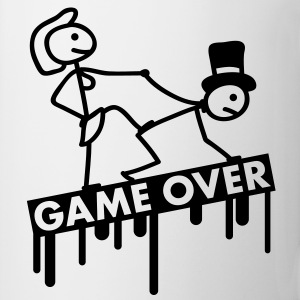 bachelor_party_game_over T-shirts - Mugg