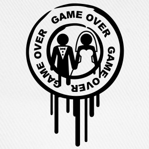 game_over_marriage_stamp Koszulki - Czapka z daszkiem