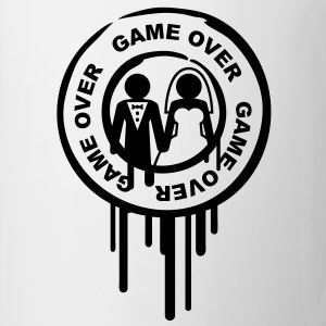 game_over_marriage_stamp Koszulki - Kubek
