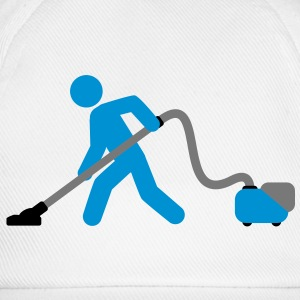 vacuuming_boy T-Shirts - Baseball Cap