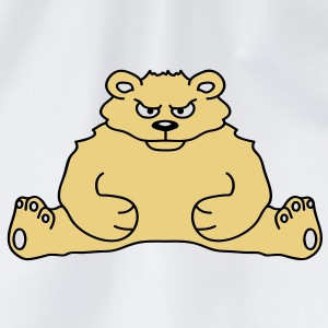 sitting_angry_bear T-shirts - Gymnastikpåse