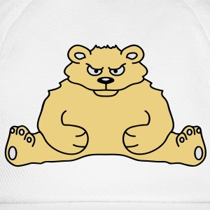 sitting_angry_bear Tee shirts - Casquette classique