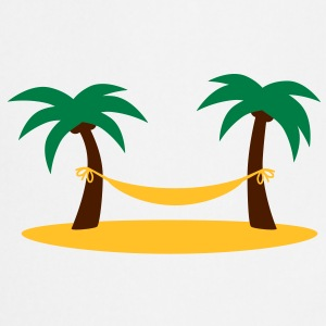island_palms_and_hammock T-Shirts - Kochschürze