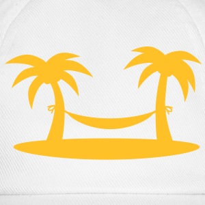 island_palms_and_hammock T-shirts - Baseballcap