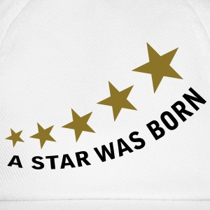a_star_was_born T-shirts - Basebollkeps