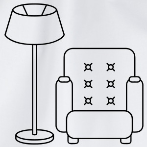 floor_lamp_and_armchair T-shirts - Sportstaske